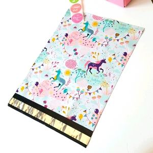 """25 pcs Unicorn Poly Mailers 10""""x13"""" in"""